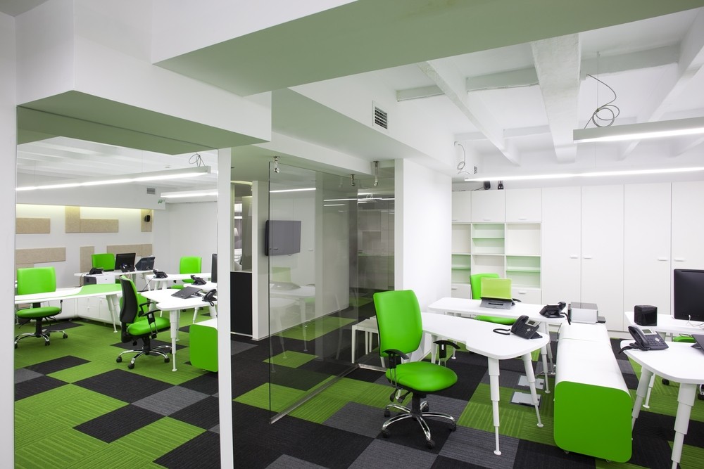 6 office space design ideas for pleasant look for Ideal office design