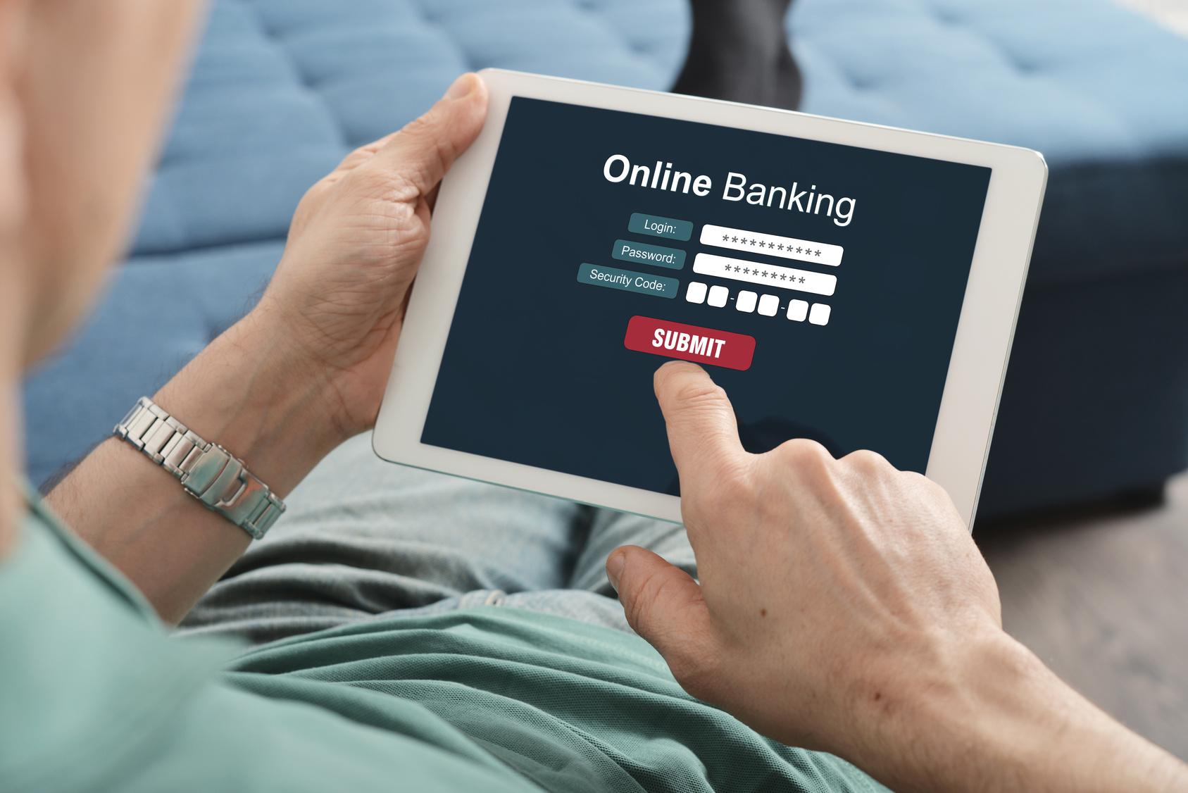 online internet banking application